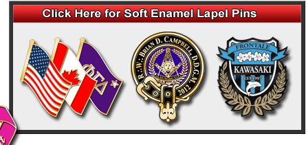Lapel Pins - Custom Lapel Pins - Lapel Pin Junction
